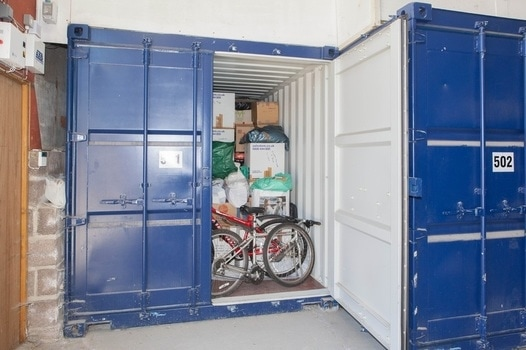 Large Single Garage Storage Unit
