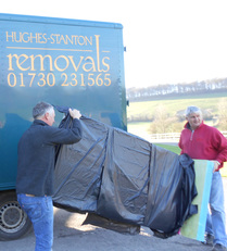 smaller removals and storage in hampshire