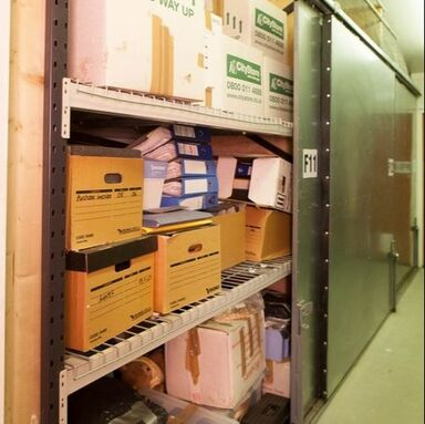 Shelved Archive Storage Unit near Petersfield